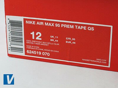 Nike Box Label Template How to Spot Fake Nike Air Max 95 S