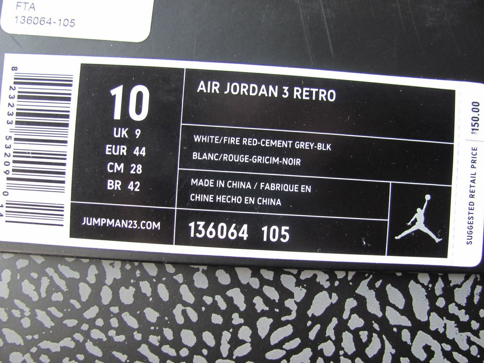 Nike Box Label Template Jordan Shoe Box Label Template the Siskind Law Firm