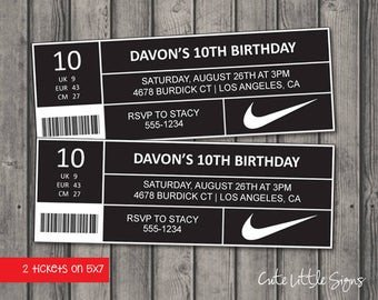 Nike Box Label Template Nike Shoe Box