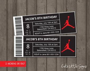 Nike Box Label Template Retro Jordan S Shoe Box Exploding Box Invitation