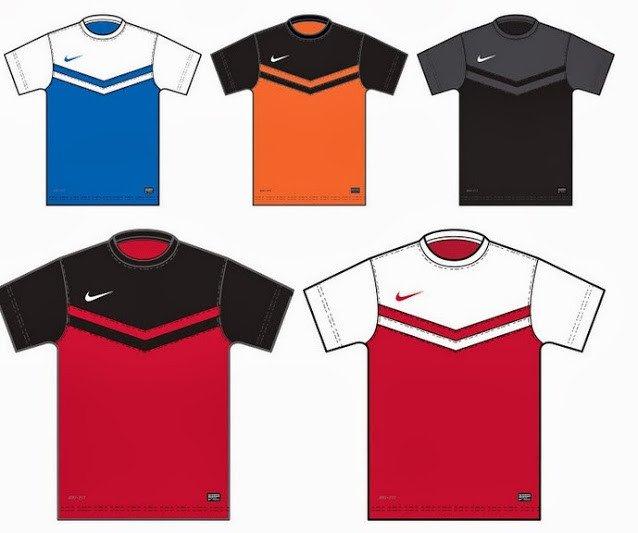 Nike Football Jersey Template 2014 2015 Nike Teamwear Kit Templates [ Full List ]