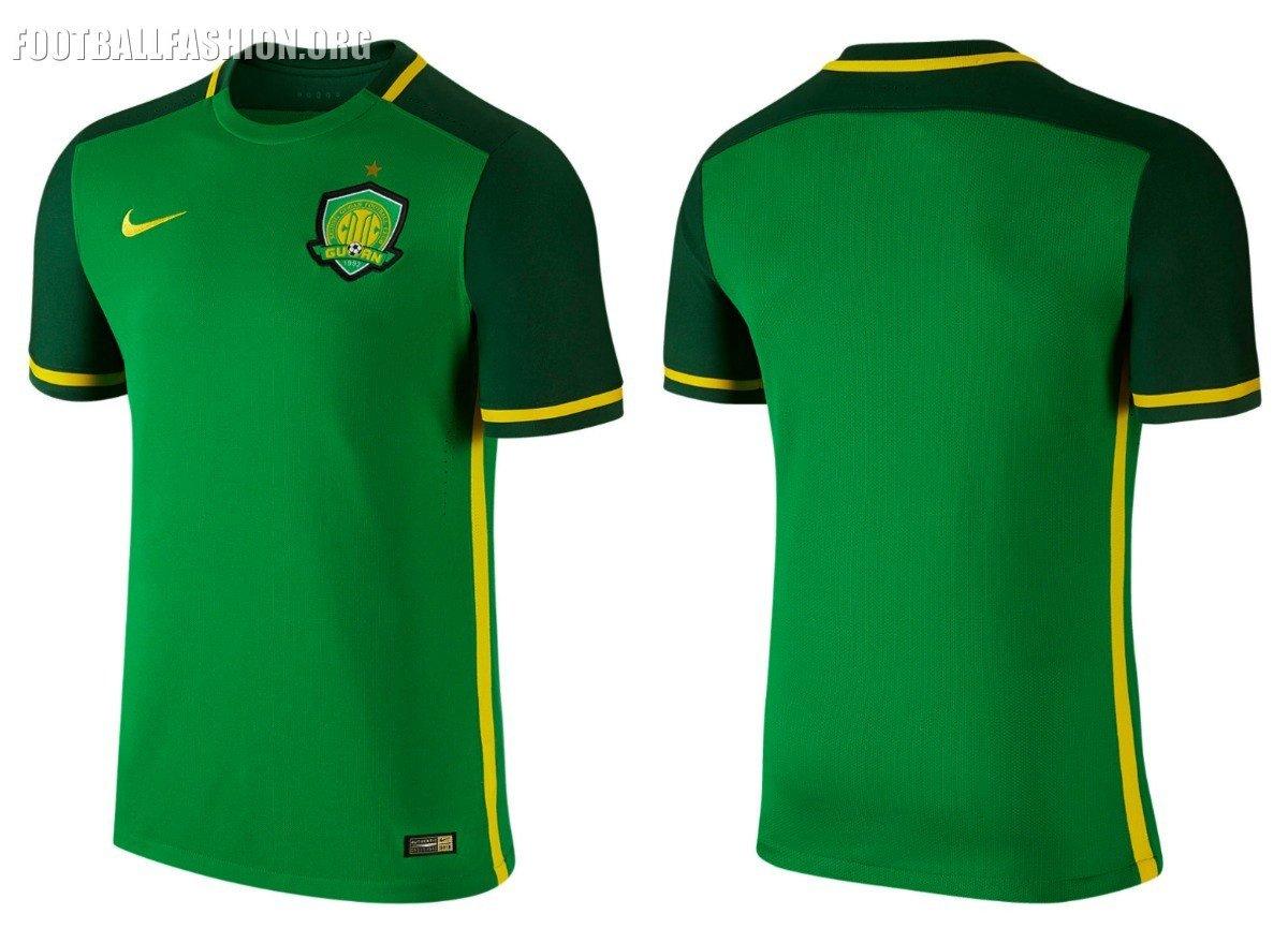 Nike Football Jersey Template Beijing Guoan Fc 2016 Nike Home Jersey – Football Fashion org