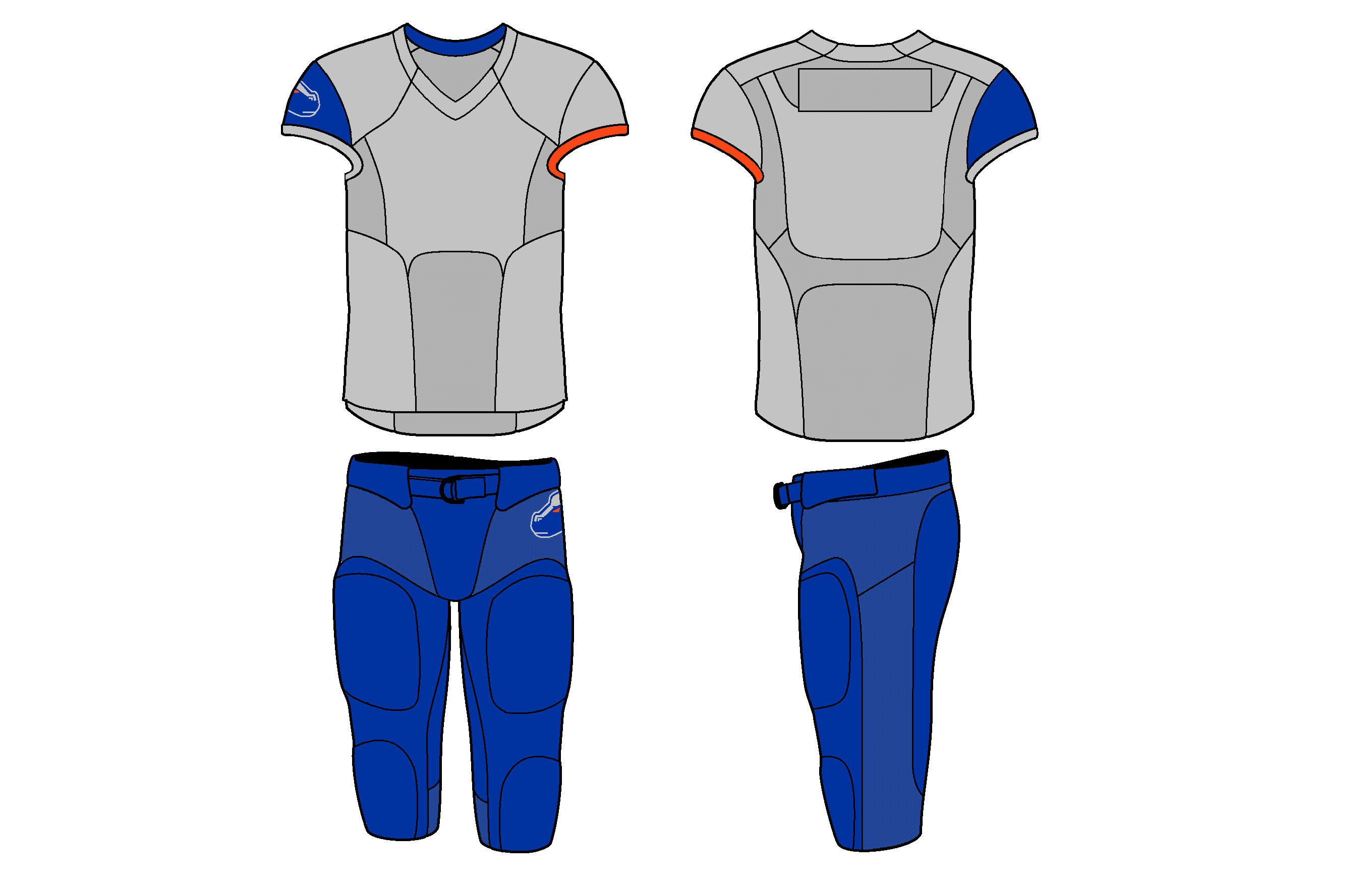 Nike Football Jersey Template Evolution Of Nike College Football Uniforms Land Grant