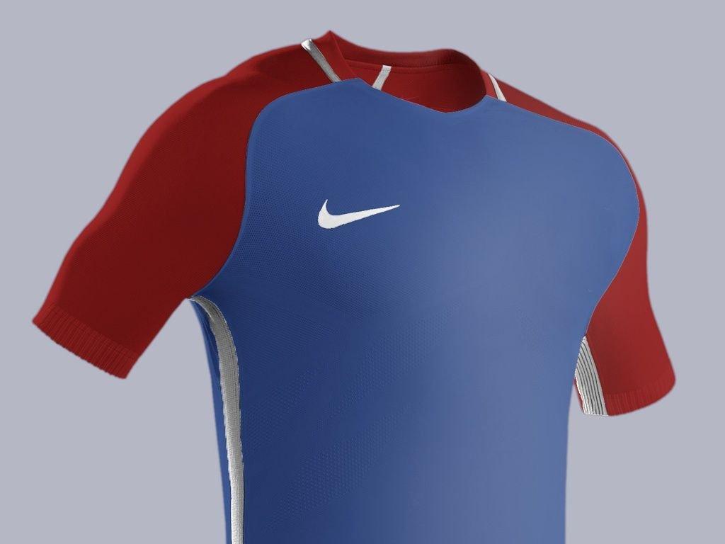 Nike Football Jersey Template Football Kit Mockup Psd Hd Template Full Editable Model