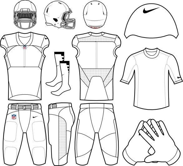 Nike Football Jersey Template Football Uniform Templates Collage Porn Video
