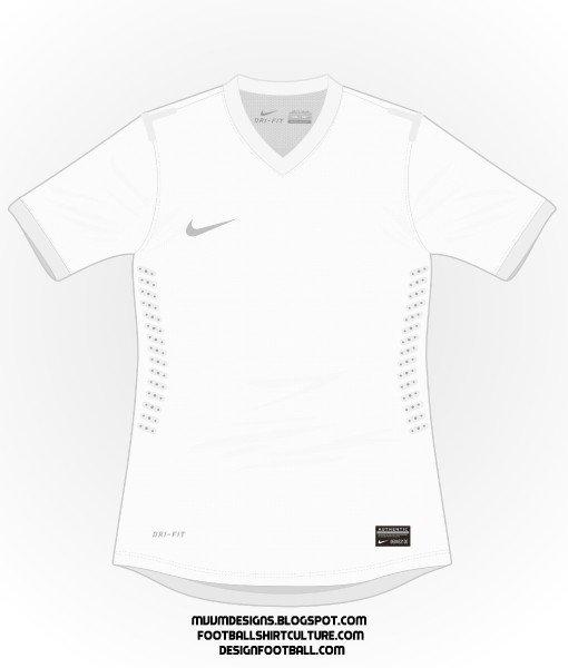 Nike Football Jersey Template [free Template] 2013 2014 Basic Nike Shirt Updated