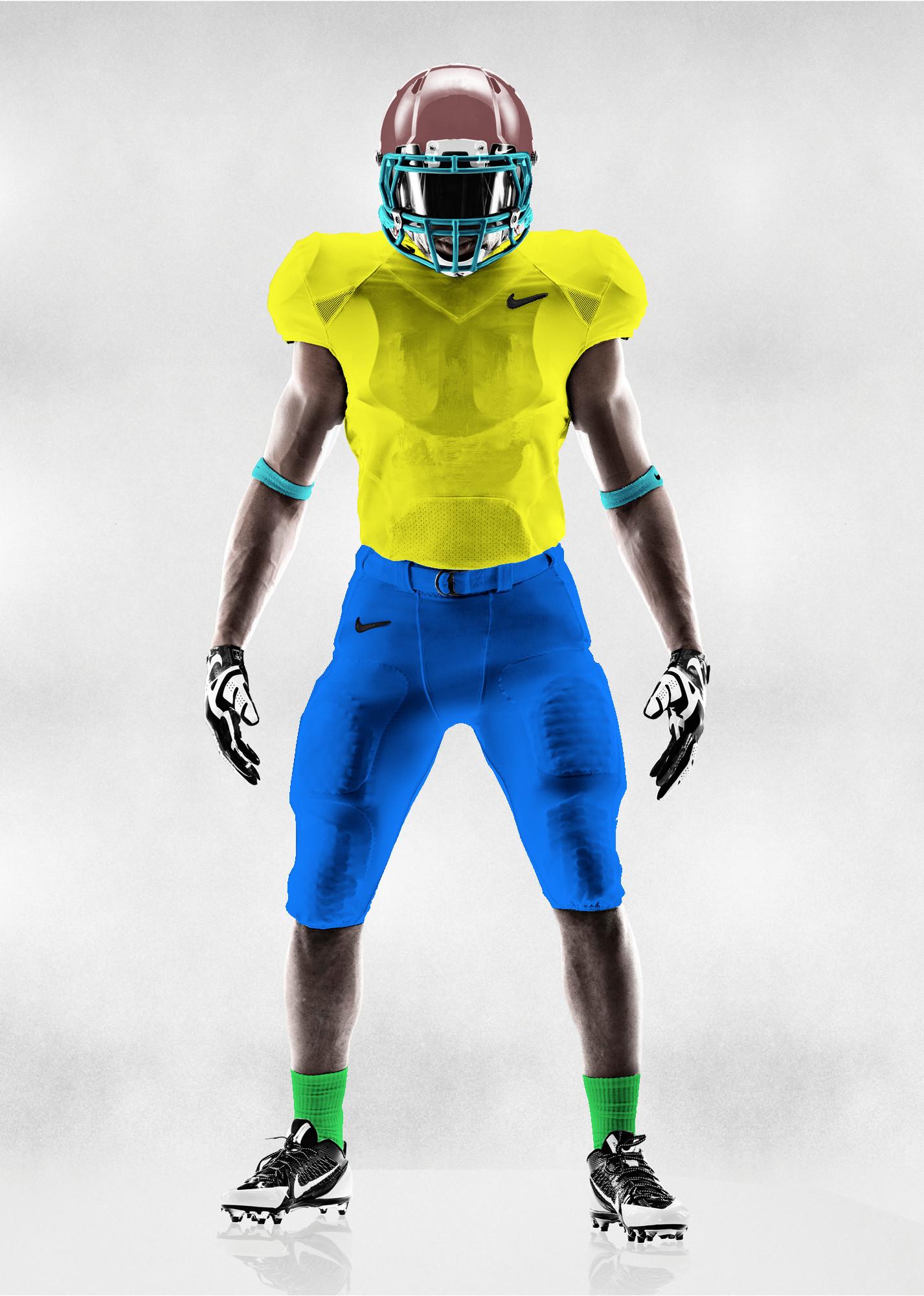 Nike Football Jersey Template Nike Football Uniform Template by Nextgen10 On Deviantart