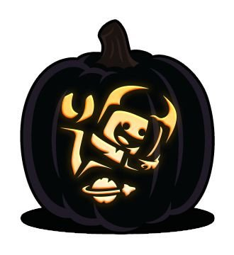 Ninjago Pumpkin Pattern thebrownfaminaz Ninjago Pumpkin Stencil