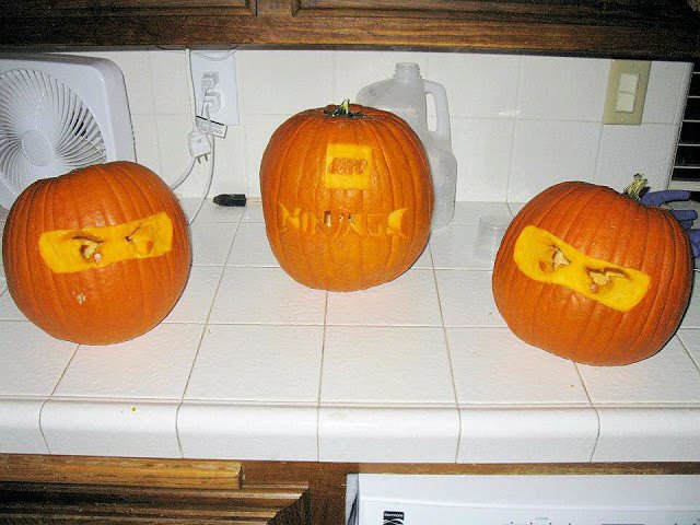 "Ninjago Pumpkin Stencils Paralyzed with Joy Hawkins Halloween ""ninjago"" Style"