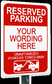 No Parking Signs Template Custom Parking Signs & No Parking Signs