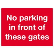 No Parking Signs Template Dibond No Parking Sign Template 2 Banner Man