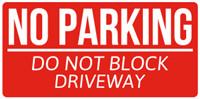 No Parking Signs Template Parking Signs & Templates