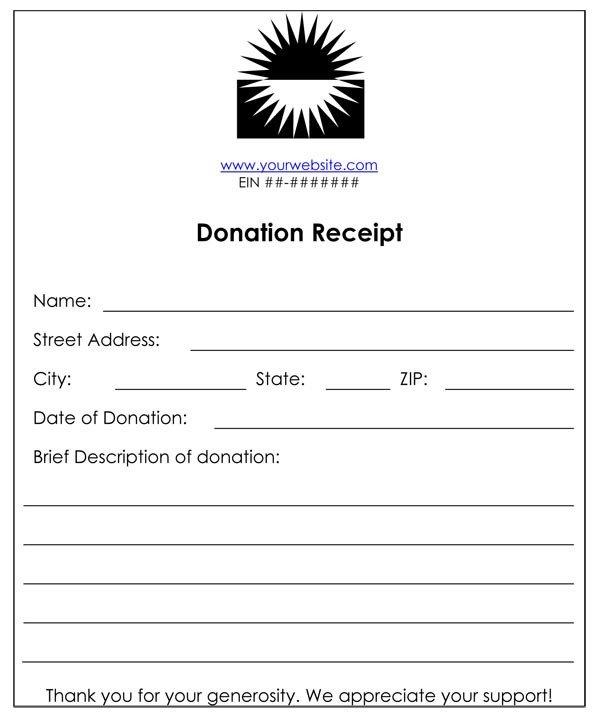 Non Profit Invoice Template Non Profit Donation Receipt Template