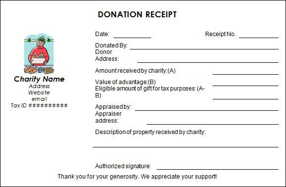 Non Profit Invoice Template Sample Donation Receipt Template 17 Free Documents In