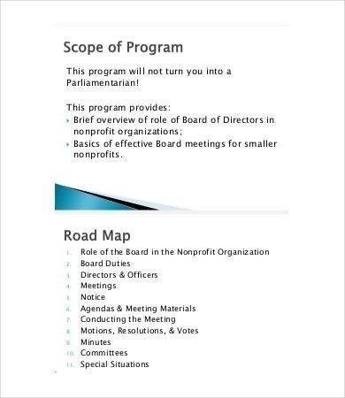 Nonprofit Board Meeting Agenda Template Nonprofit Board Meeting Agenda Template 2018