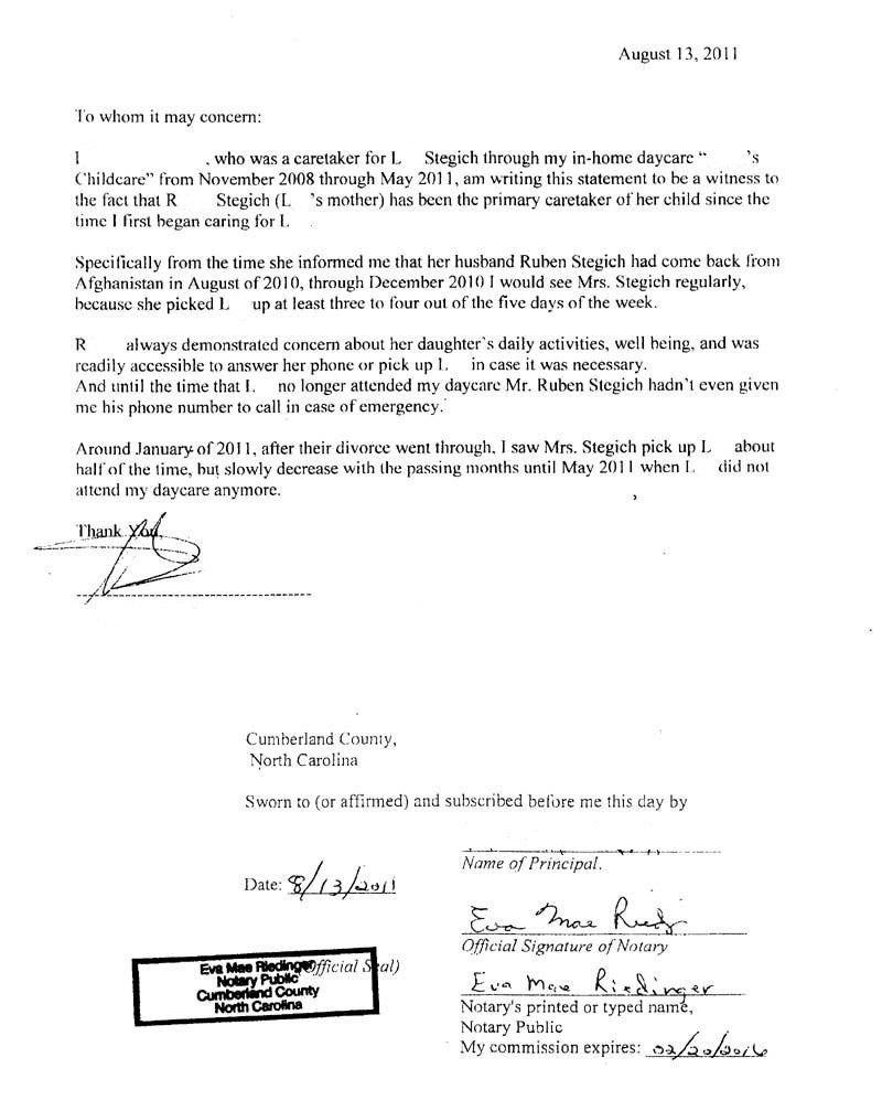 Notarized Custody Agreement Template Custody Agreement Template 2018