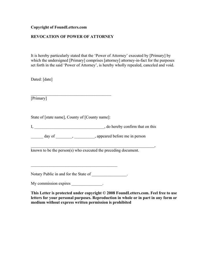 Notarized Letter Template Word 8 Notarized Letter Template Free Download