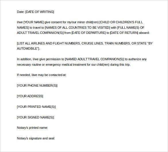 Notarized Letter Template Word How to Write A Notarized Letter