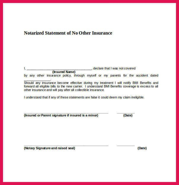Notary Signature Block Template Sample Notary Signature Block