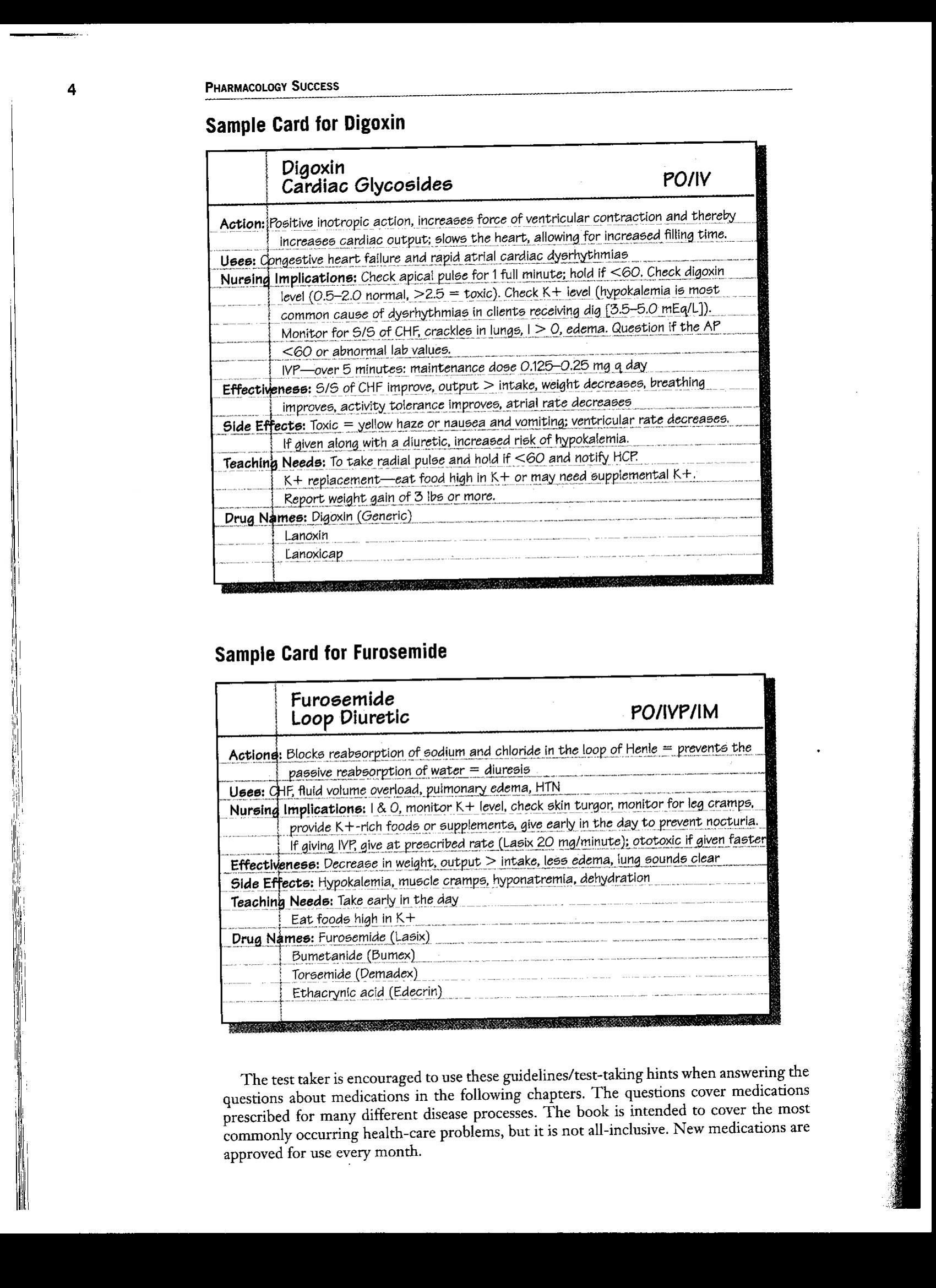 Nursing Drug Card Template Pin by Tiana Rogers On School