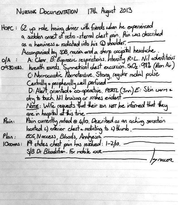 Nursing Progress Notes Examples Examples Proper Nursing Documentation to Pin