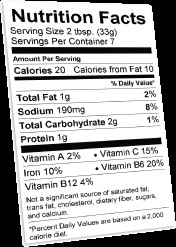 Nutrition Facts Template Word Nutrition Label Blank Ftempo Inspiration