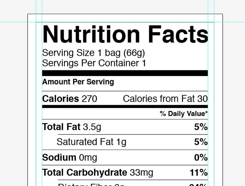 Nutrition Facts Template Word Nutrition Label Template Word