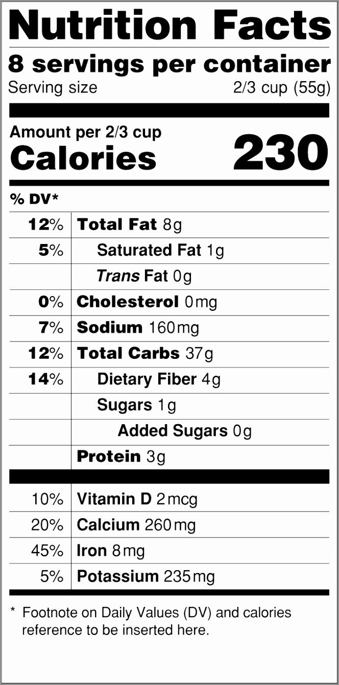 Nutrition Label Template Excel 10 Nutrition Facts Template Word Ioewr