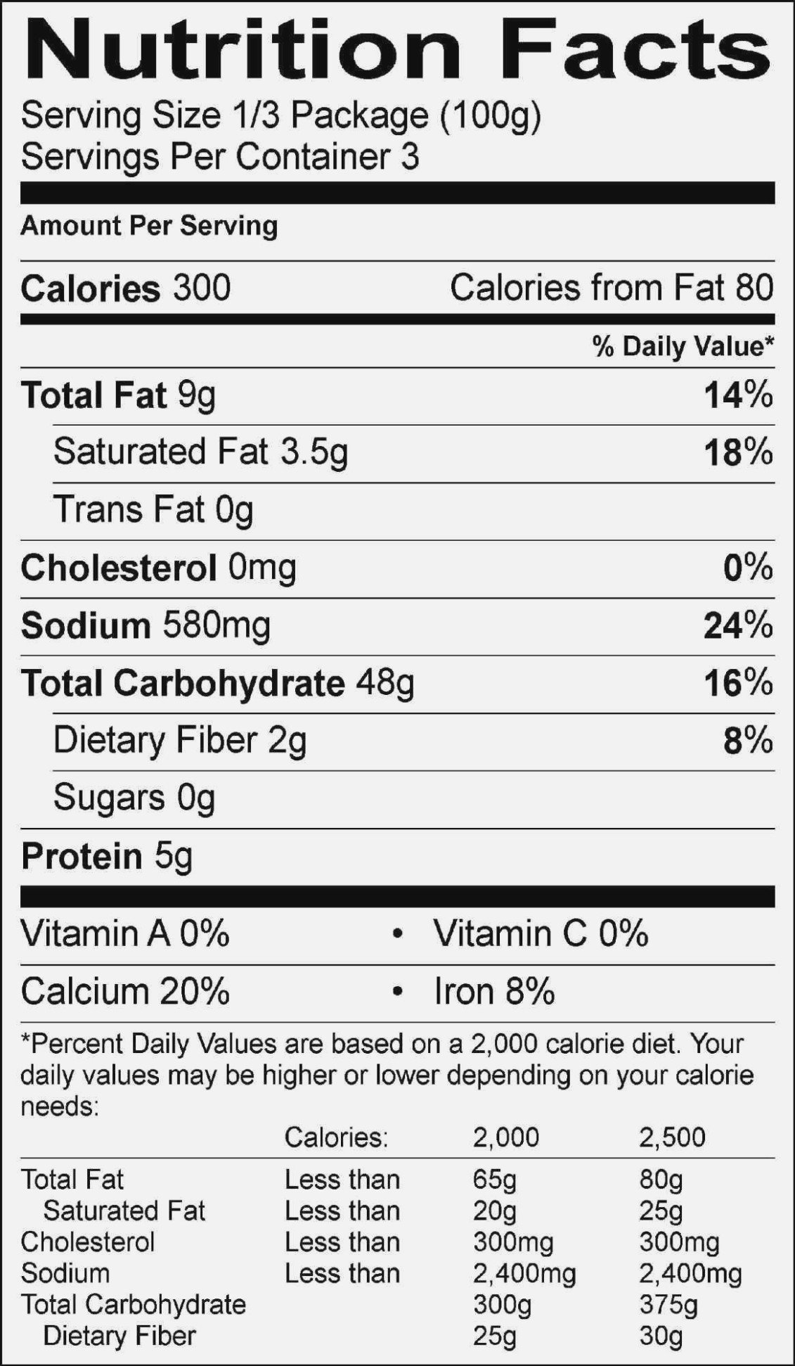 Nutrition Label Template Excel Nutritional Label Template Excel Nutrition Ftempo