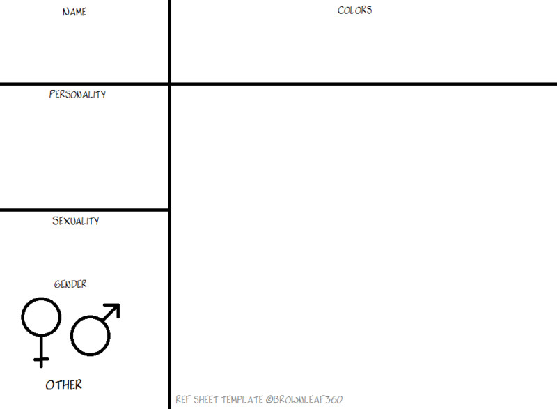 Oc Reference Sheet Template Oc Ref Sheet Template by Brownleaf360 On Deviantart