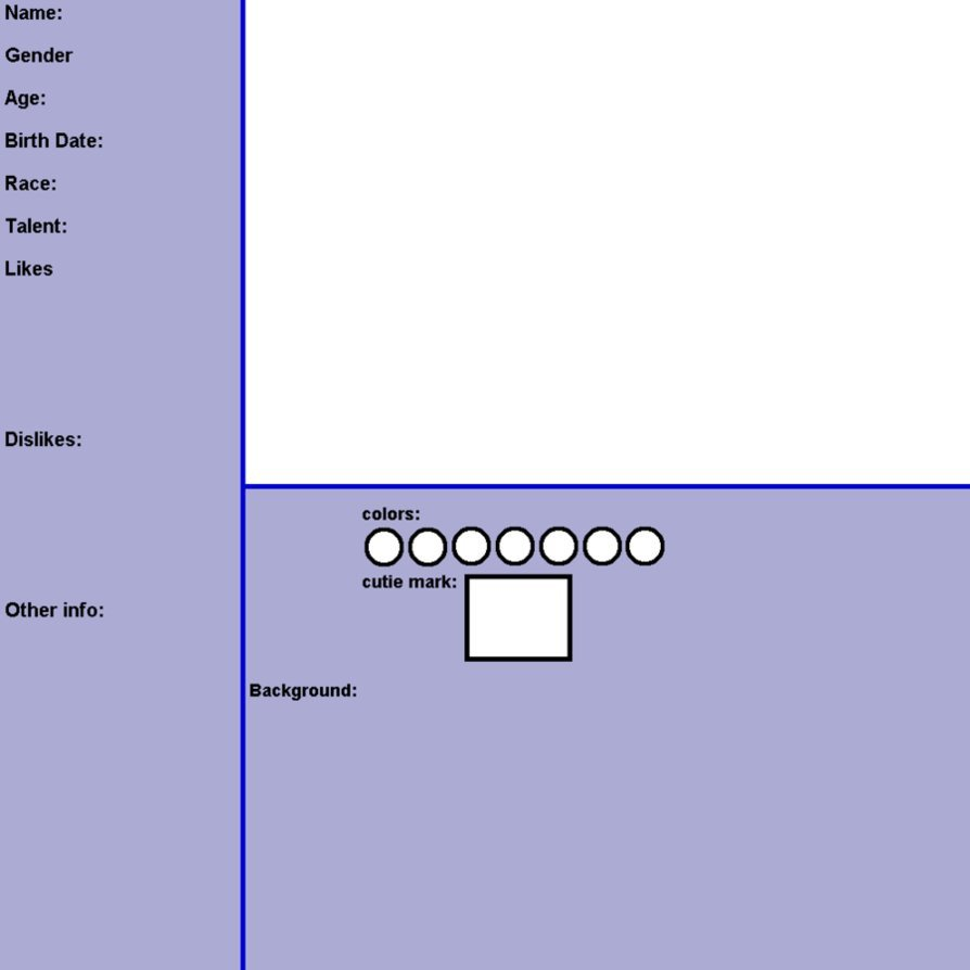 Oc Reference Sheet Template Oc Reference Template Blank by Jen Neigh On Deviantart