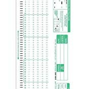 Office Depot Scantron 882 Amazon Test 100 882 Patible Testing forms 100