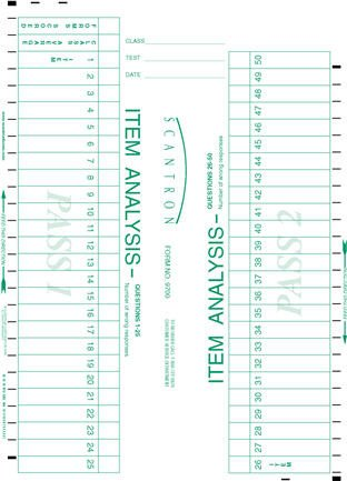 Office Depot Scantron 882 Scantron F 288 Par L