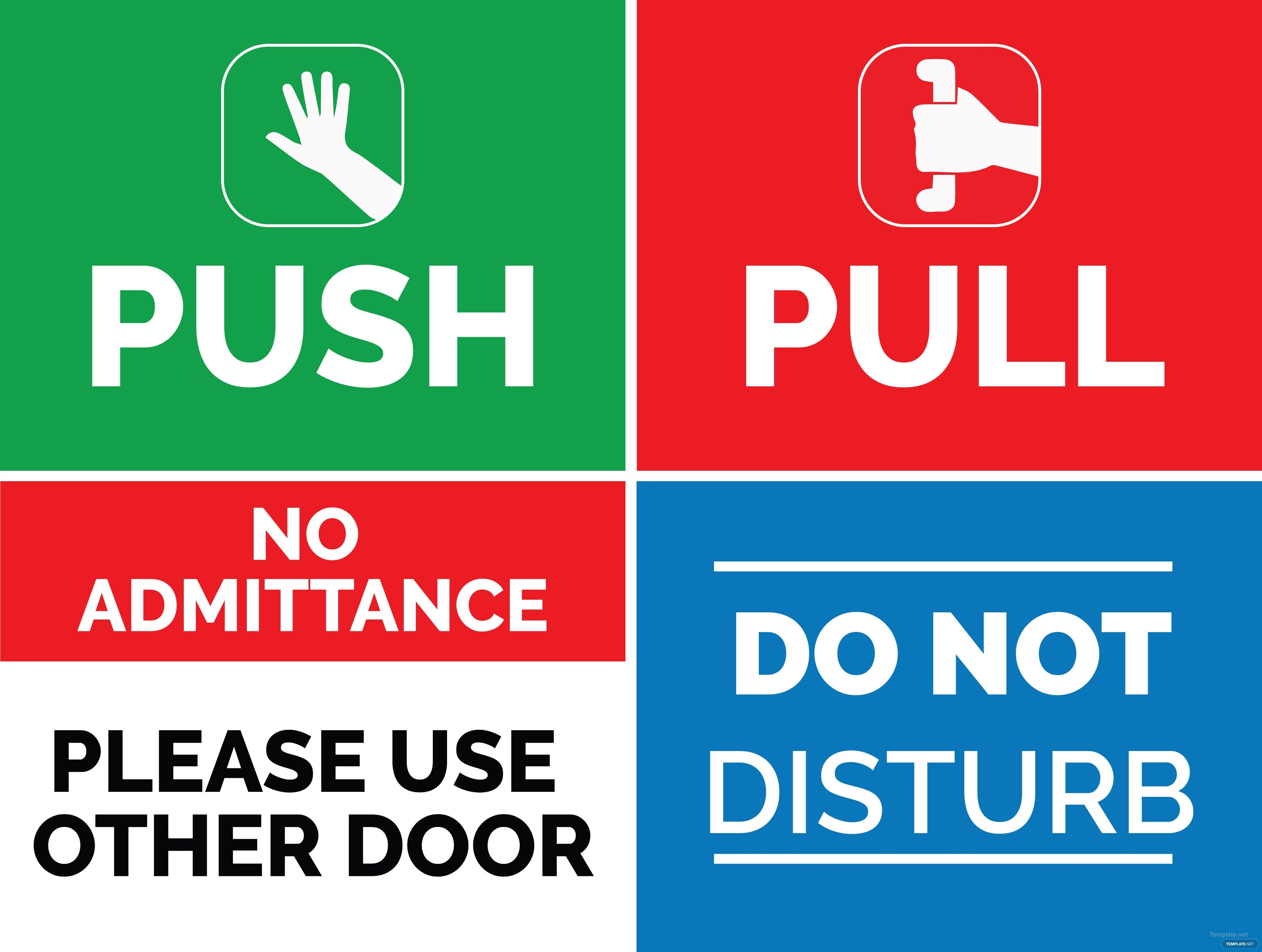 Office Door Signs Templates Door Signs Templates & Door Knob Sign Template 1