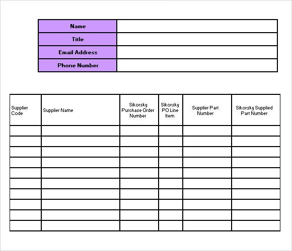 Office Supply Checklist Template Excel Sample Supply Inventory Template 12 Free Documents