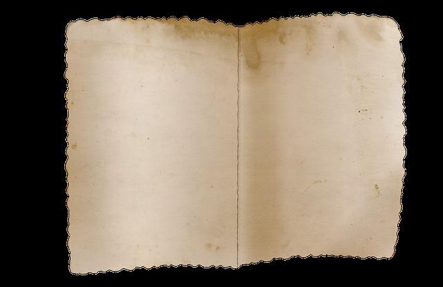 Old Paper Texture Png Old Paper Vintage Fold · Free Image On Pixabay