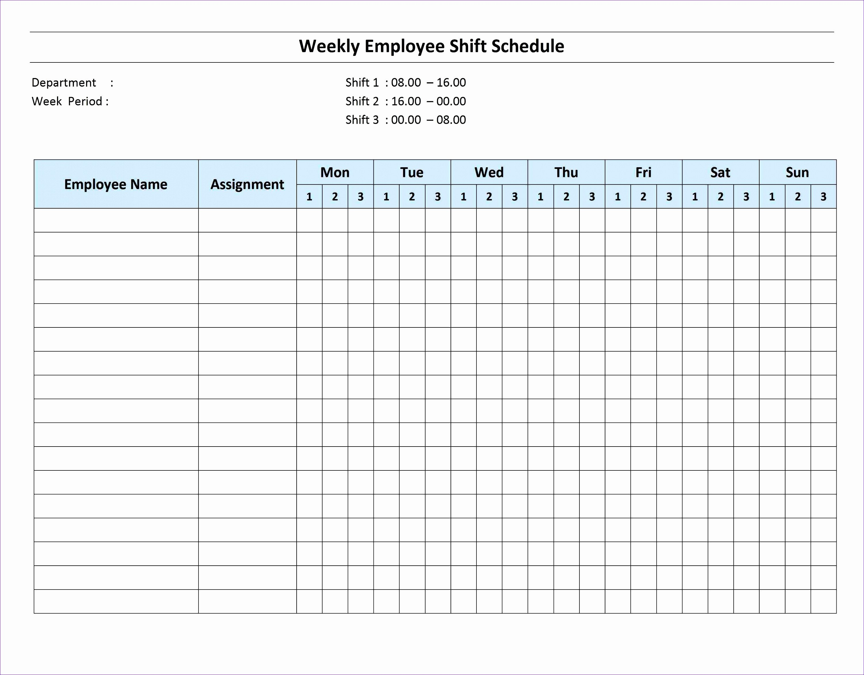 On Call Schedule Template 9 Call Schedule Template Excel Exceltemplates