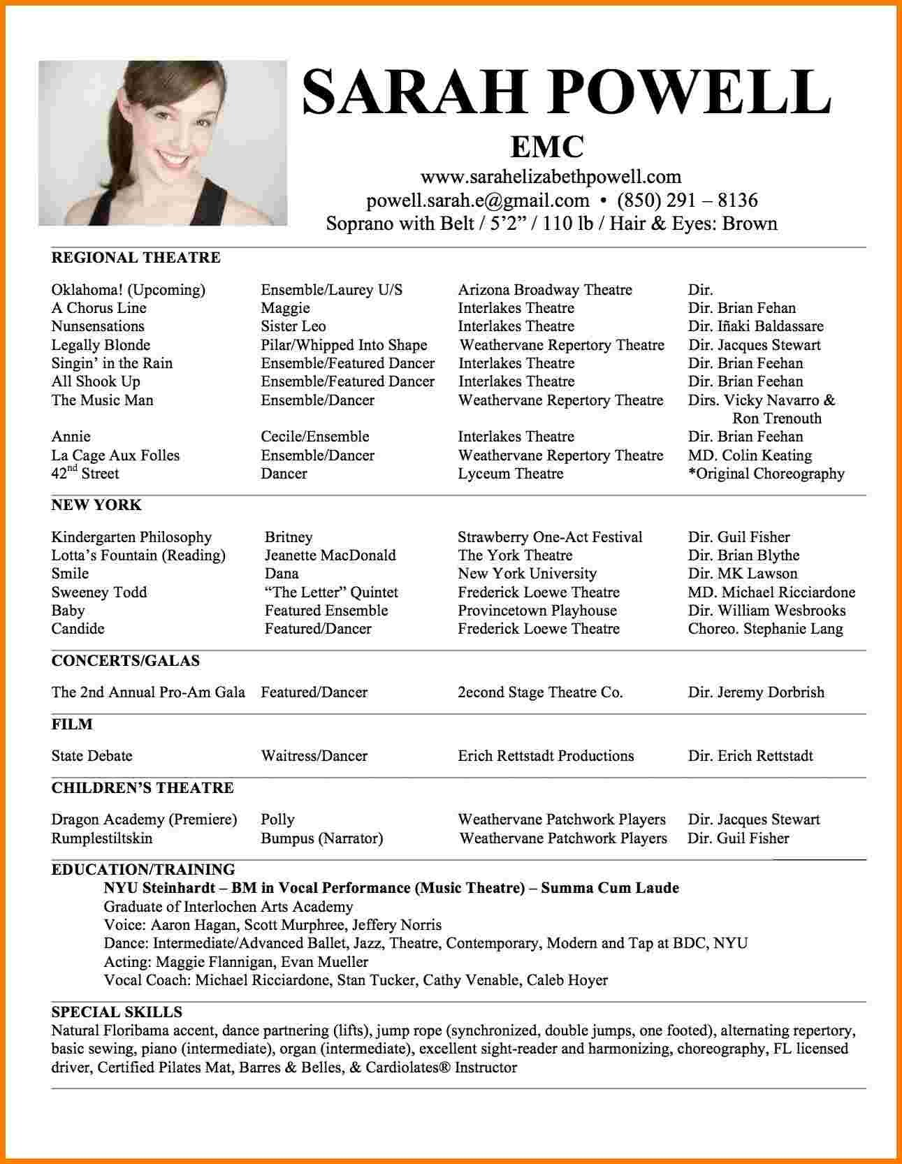 One Page Resume Template 5 Best One Page Resume Templates