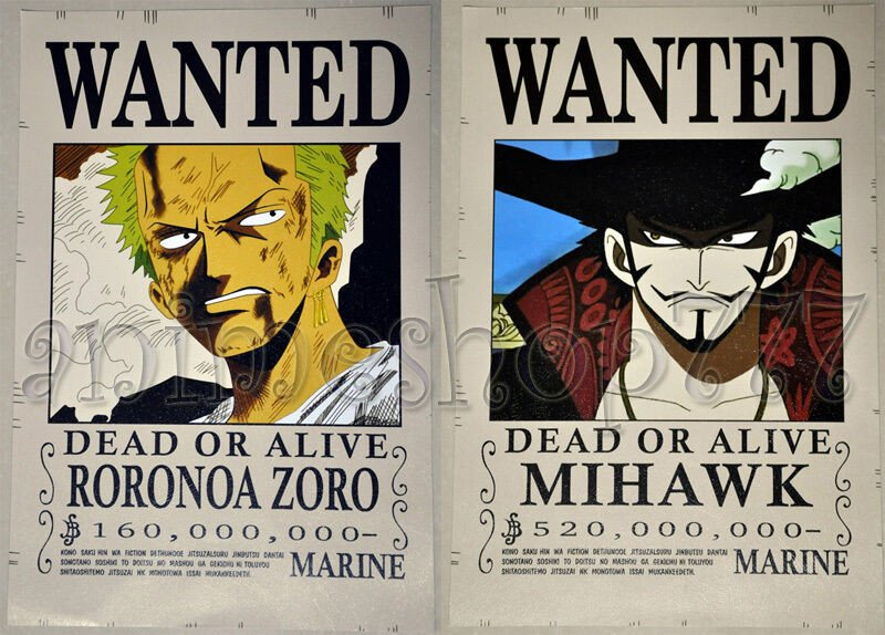"One Piece Wanted Posters 16 5""x11 4"" E Piece Wanted Poster Cosplay Luffy Shanks"