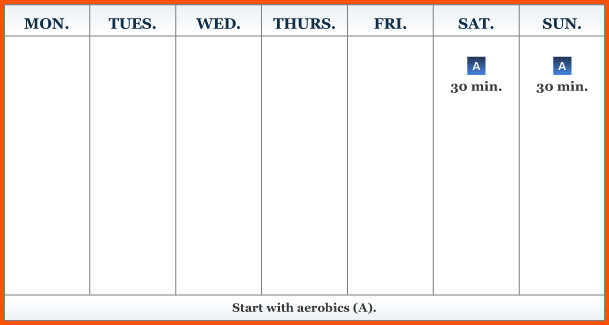 One Week Schedule Template 14 One Week Calendar
