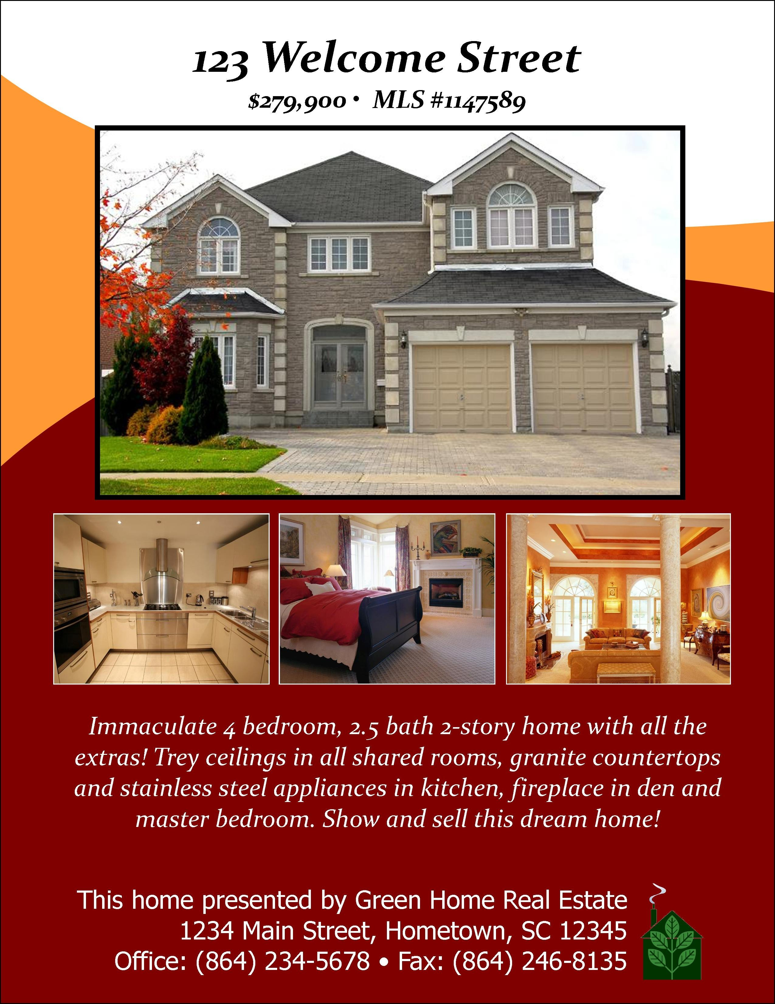 Open House Flyer Template Word 301 Moved Permanently