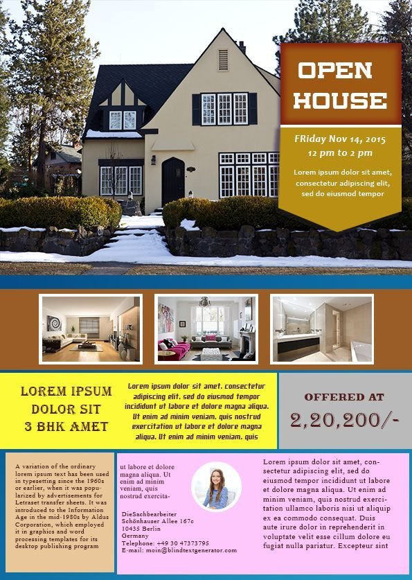 Open House Flyer Template Word 34 Best Images About Open House Flyer Ideas On Pinterest