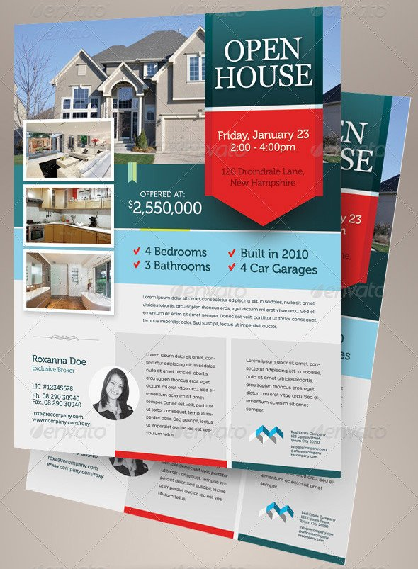Open House Flyer Template Word 42 Open House Flyer Templates Word Psd Ai Eps Vector