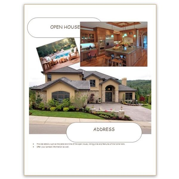 Open House Flyer Template Word Find Free Flyer Templates for Word 10 Excellent Options