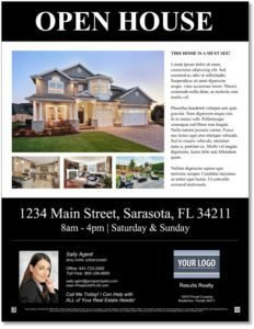 Open House Flyer Templates Free Open House Flyer Templates – Download & Customize