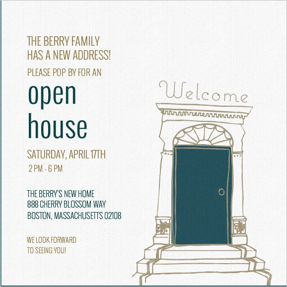 Open House Invitation Templates 37 Invitation Templates Word Pdf Psd Publisher