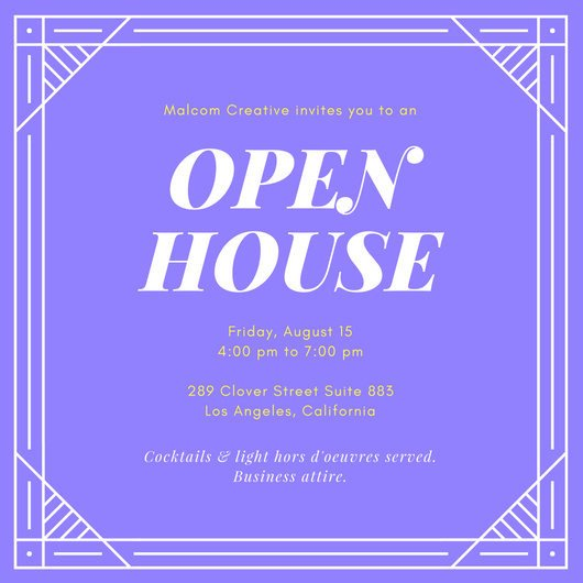 Open House Invitation Templates Customize 127 Open House Invitation Templates Online Canva