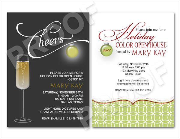 Open House Invitation Templates event Invitation In Word