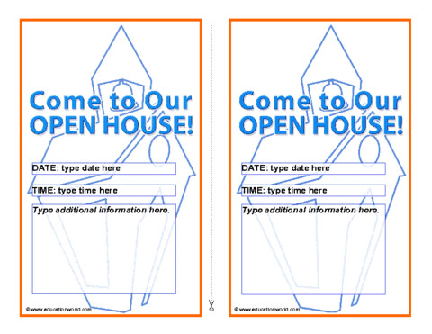 Open House Invite Templates Open House Invitation Template