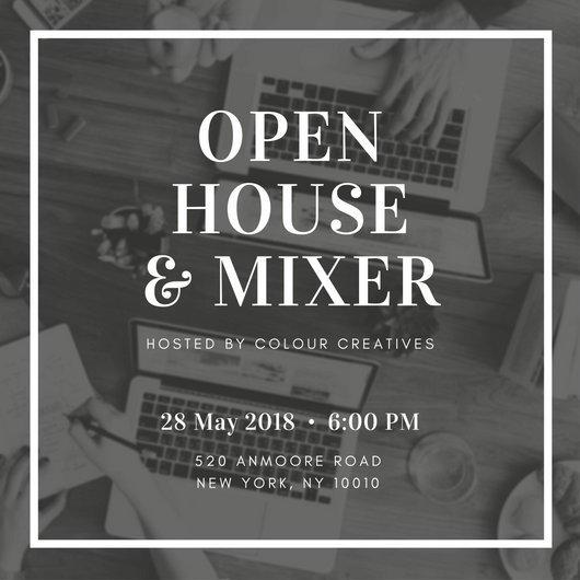 Open House Invite Templates Open House Invitation Templates Canva